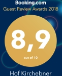 booking com guest review award